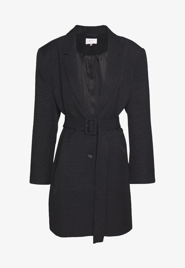 FLEUR - Krótki płaszcz - black