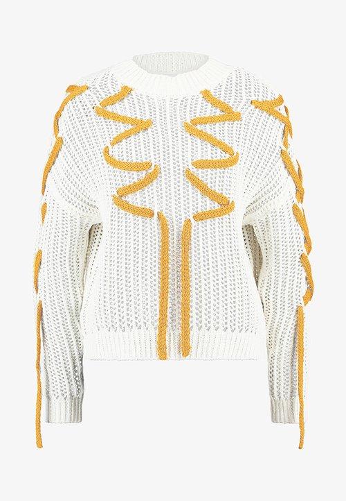 Gestuz EDISONGZ - Sweter - vaporous gray Odzież Damska IKVQ-GD7 dobra jakość