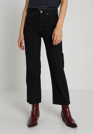 EMMA - Straight leg jeans - black