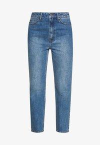 Gestuz - DACY MOM JEANS - Straight leg jeans - medium blue - 5