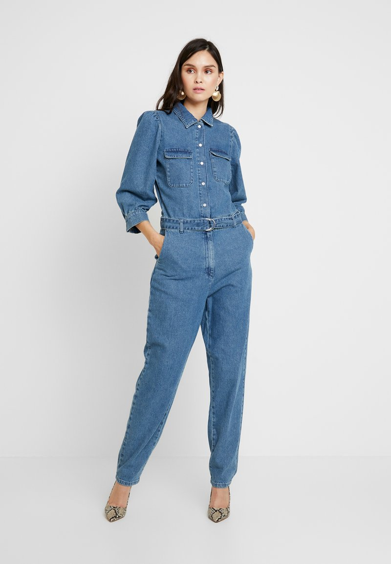 Gestuz - SERALA - Jumpsuit - denim blue