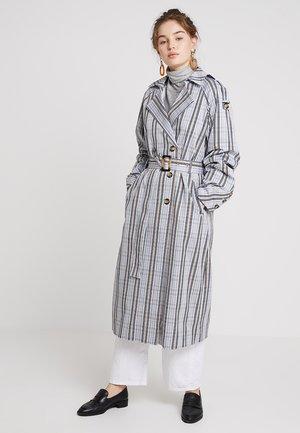 ALIFA - Trenchcoat - light blue/beige