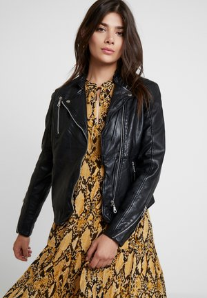 JOANNAGZ JACKE - Leather jacket - black