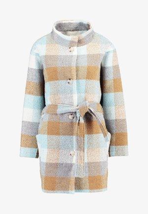 ANAYA COAT - Zimní kabát - iced blue/brown