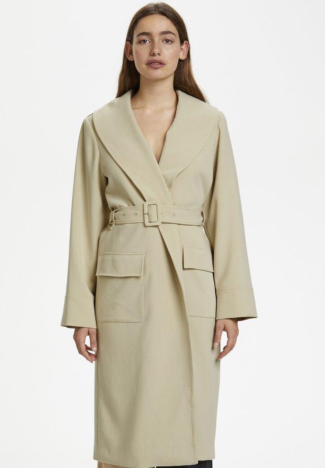 REEMGZ - Płaszcz wełniany /Płaszcz klasyczny - safari
