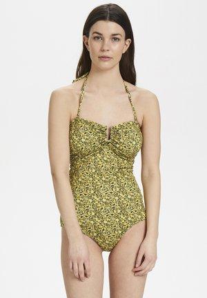 KELLYGZ - Swimsuit - yellow mini flower