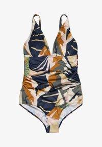 Gestuz - ARTYGZ - Swimsuit - pink multi art - 5