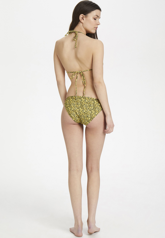 PILGZ Bikinibroekje yellow mini flower