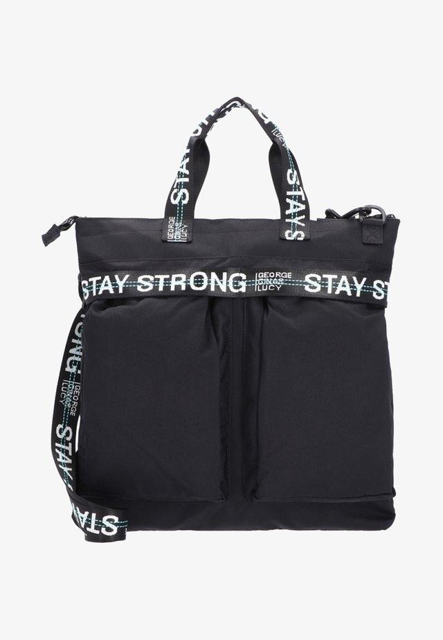 Across body bag - black strong