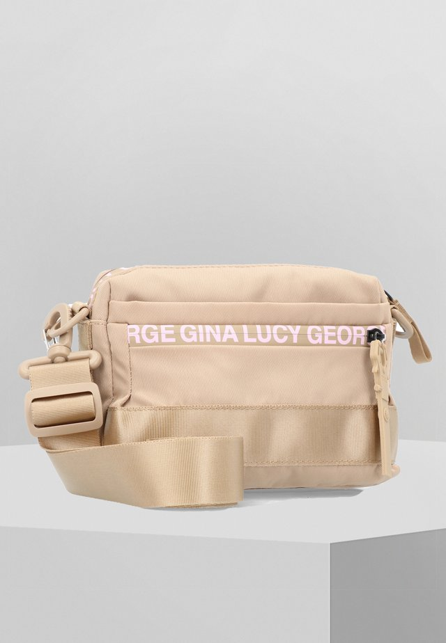 YMA  - Sac bandoulière - beige rose