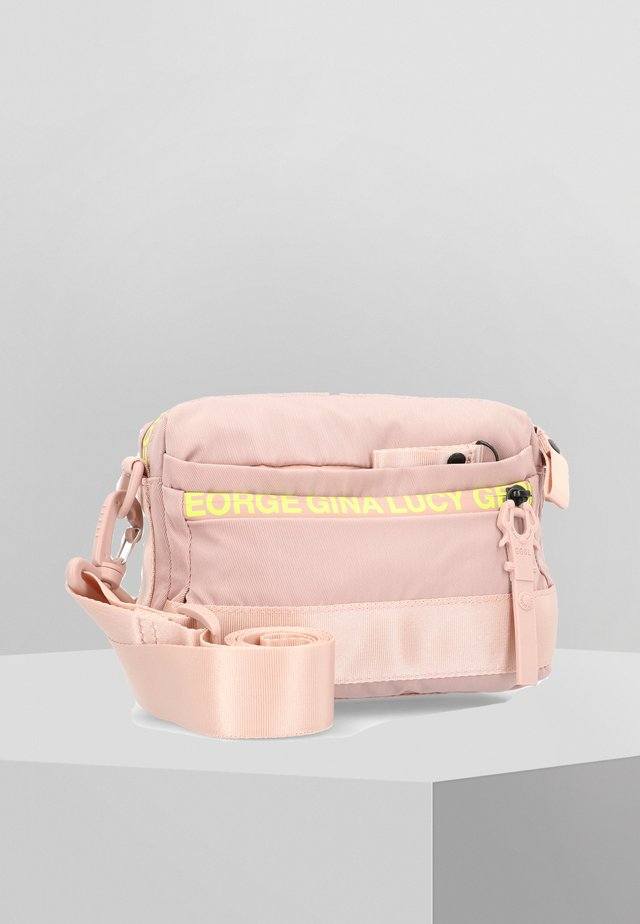 YMA  - Across body bag - light pink