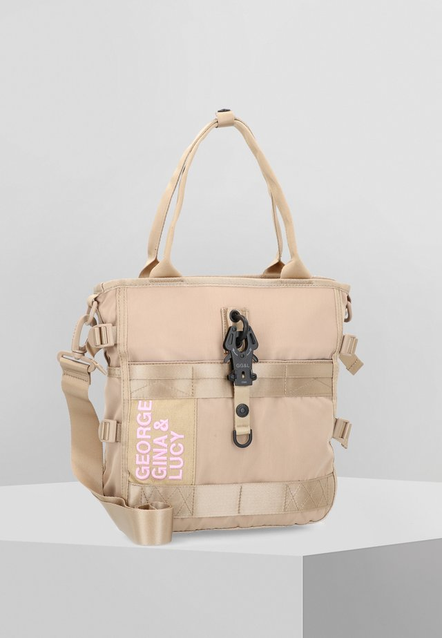 TOMI - Handbag - beige rose