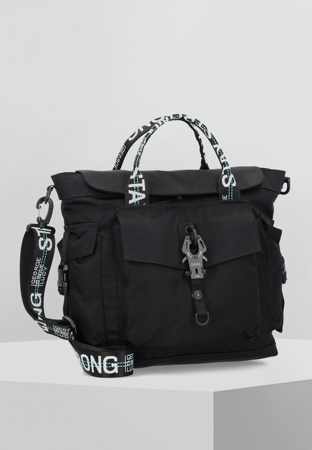 PERSISTPONY - Handbag - black strong