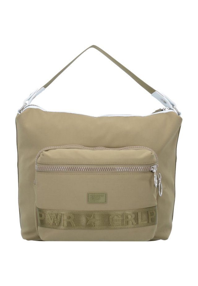 GENTLE SHOT - Handbag - olive