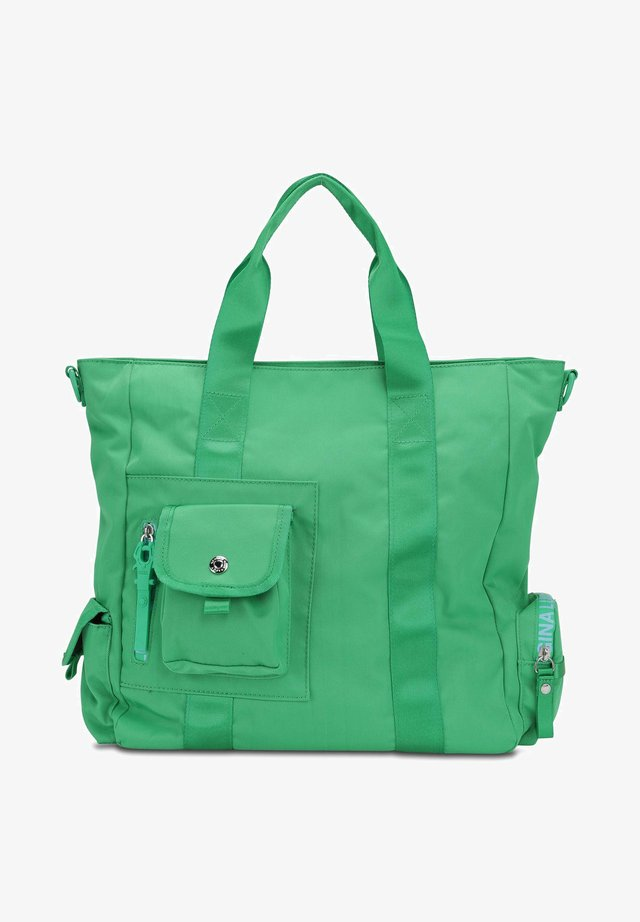 NYLON ROOTS SOLID MRS SCHMIDT - Across body bag - green