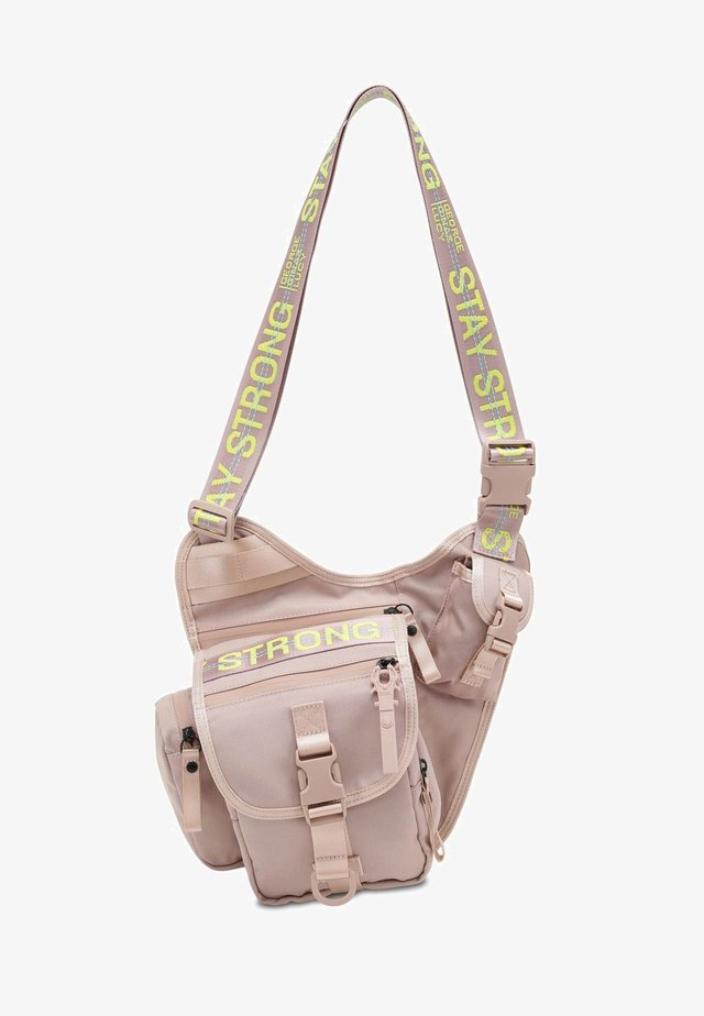 Roots Pu$h Her - Across body bag - light pink
