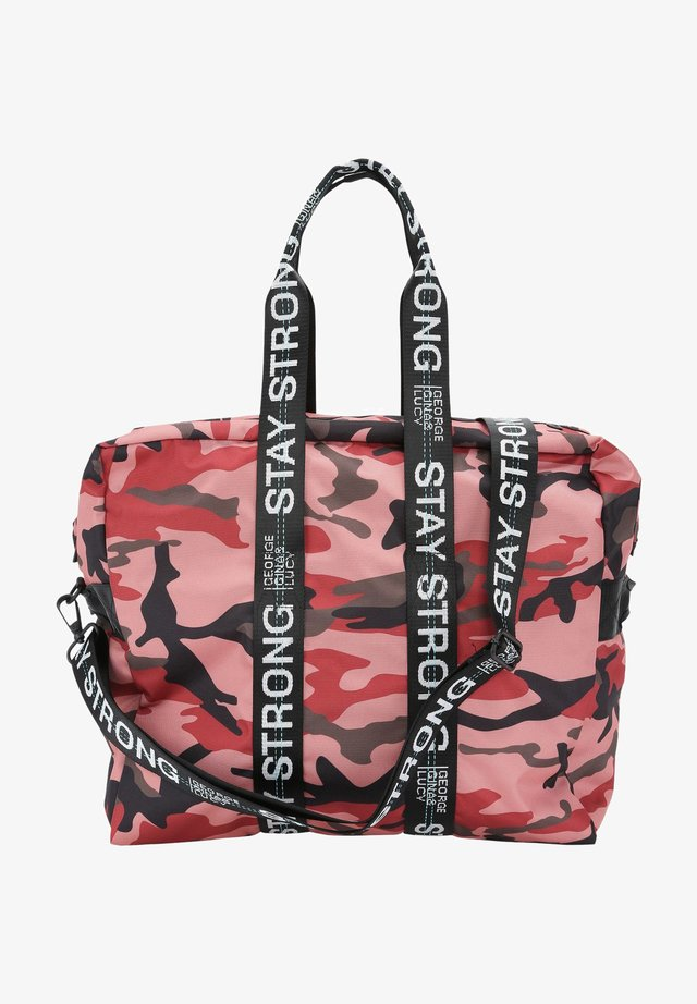 RACE RANGER - Sports bag - pink camou
