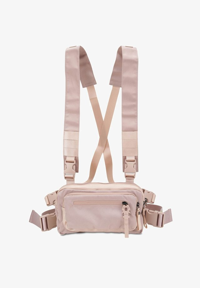 ROOTS TIED TOM - Bum bag - light pink
