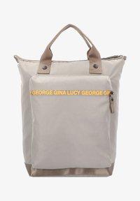 George Gina & Lucy - THE MONOKISSED RUCKSACK 40 CM LAPTOPFACH - Sac à dos - mud/neon orange - 1