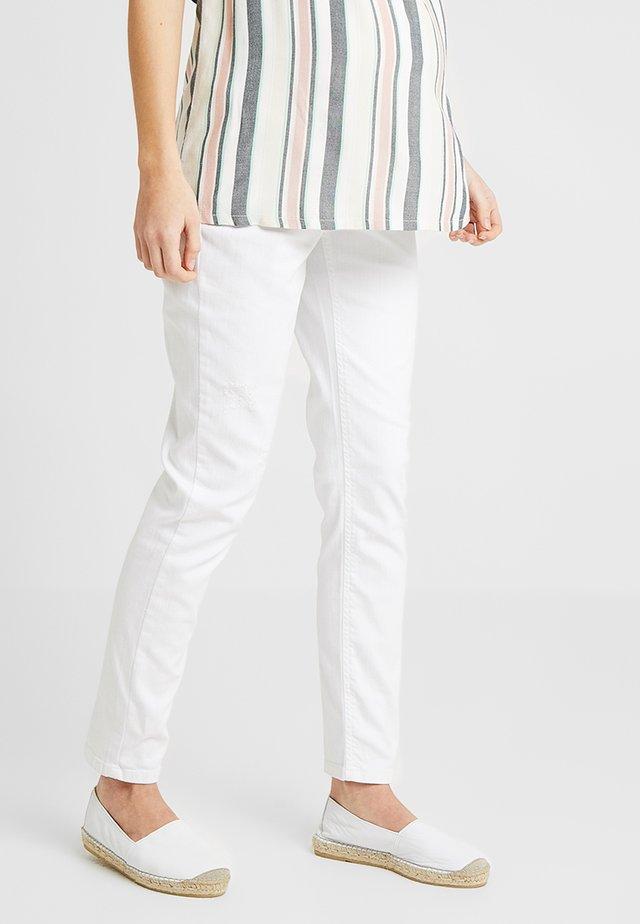 CLOUD - Jean slim - white