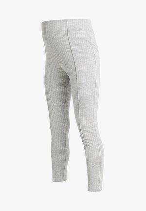 TROUSERS GABRIELLA - Leggings - grey melange