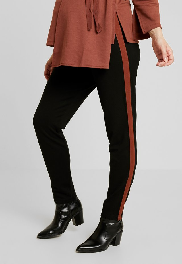 JAMES - Broek - black