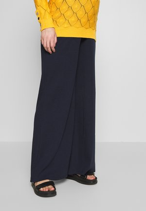 TROUSERS COMFY - Trousers - navy