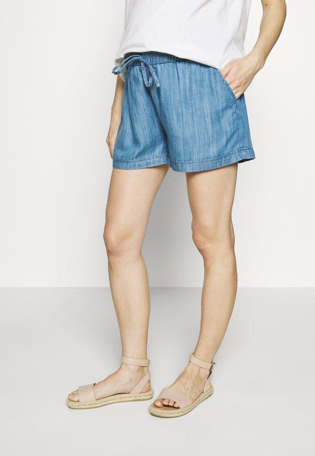 FLORA - Shorts - blue