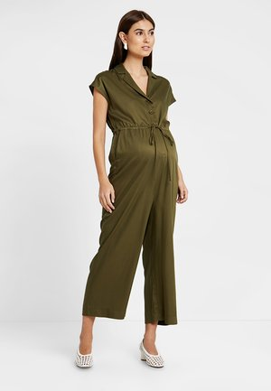 ALINA - Overall / Jumpsuit /Buksedragter - khaki