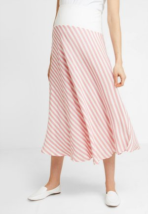 SKIRT BREEZE - Maxikjol - white/red