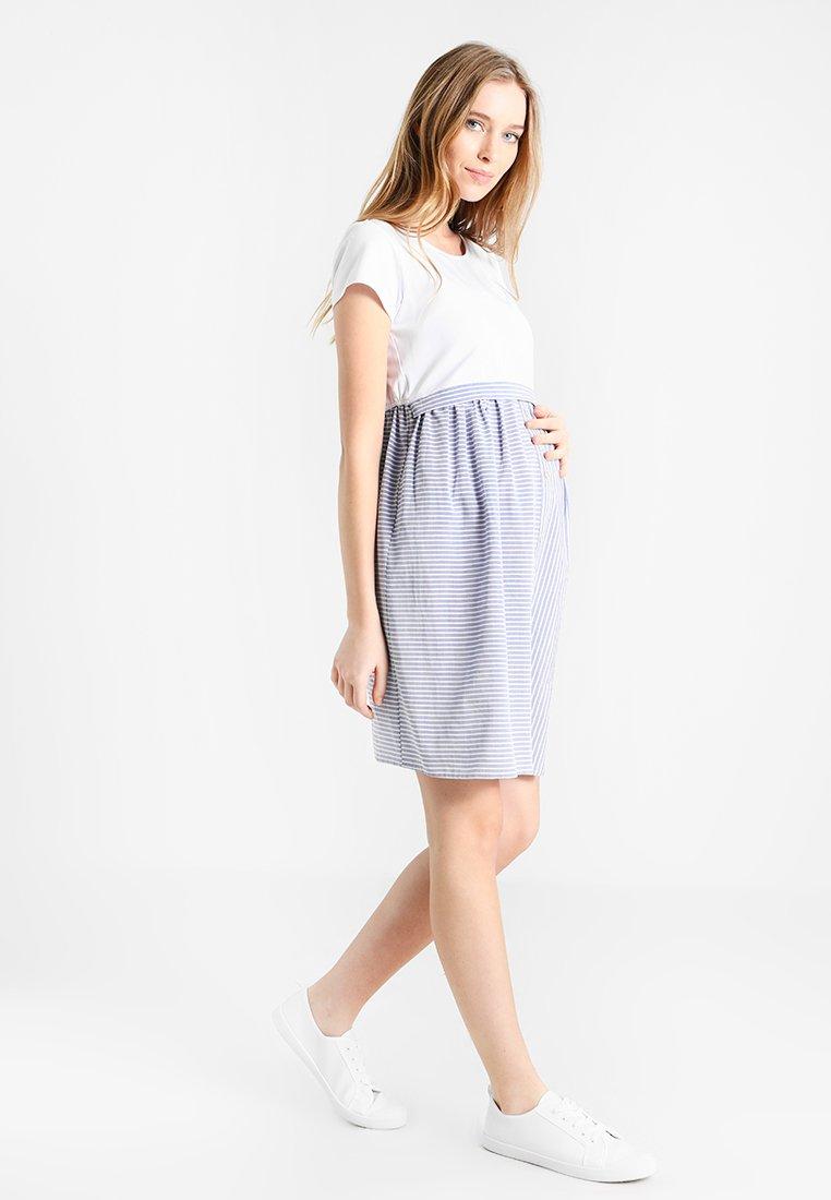 Gebe - DRESS LALIN - Jerseykjoler - white