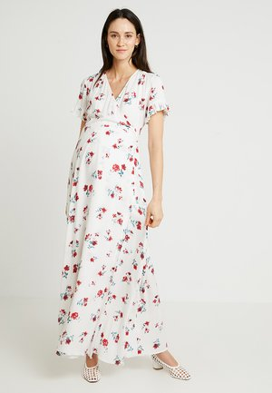 DRESS NELIA - Długa sukienka - white