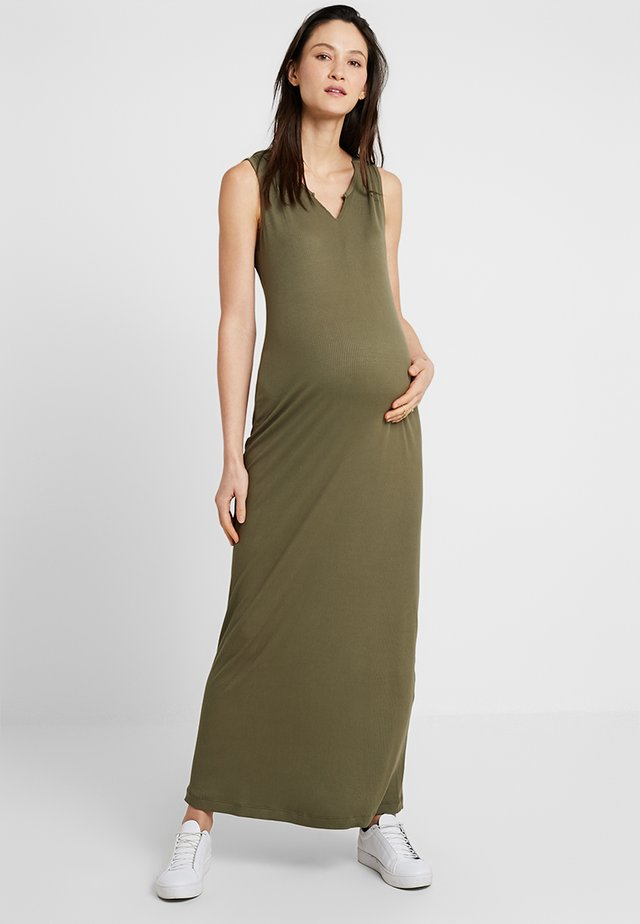 DRESS NAYOMI - Maxi šaty - khaki