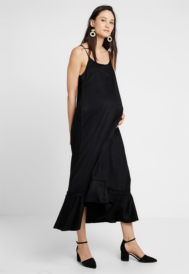 LONG DRESS BERTA - Maxi šaty - black