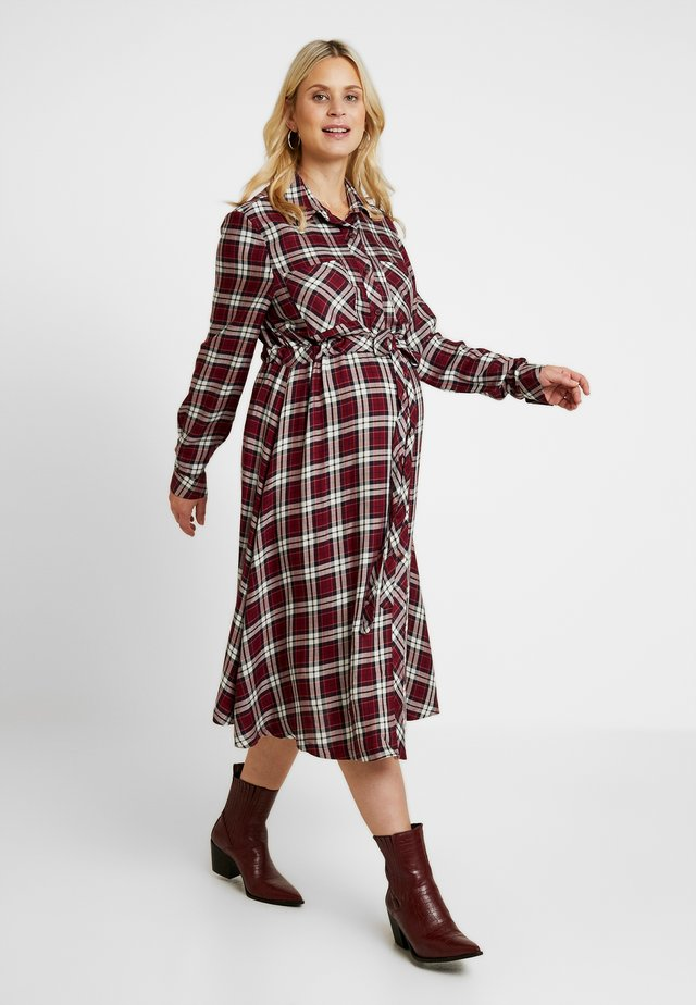 DRESS TANYA - Maxikleid - claret