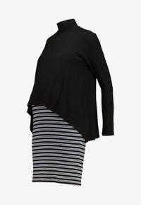 Gebe - DRESS PALMINA - Trikoomekko - ecru/black - 4