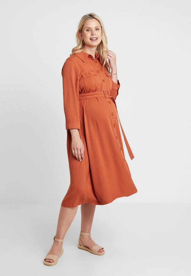 DRESS SAFARI - Blousejurk - camel
