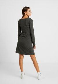 Gebe - DRESS HANNA - Vestido ligero - grey melange - 3