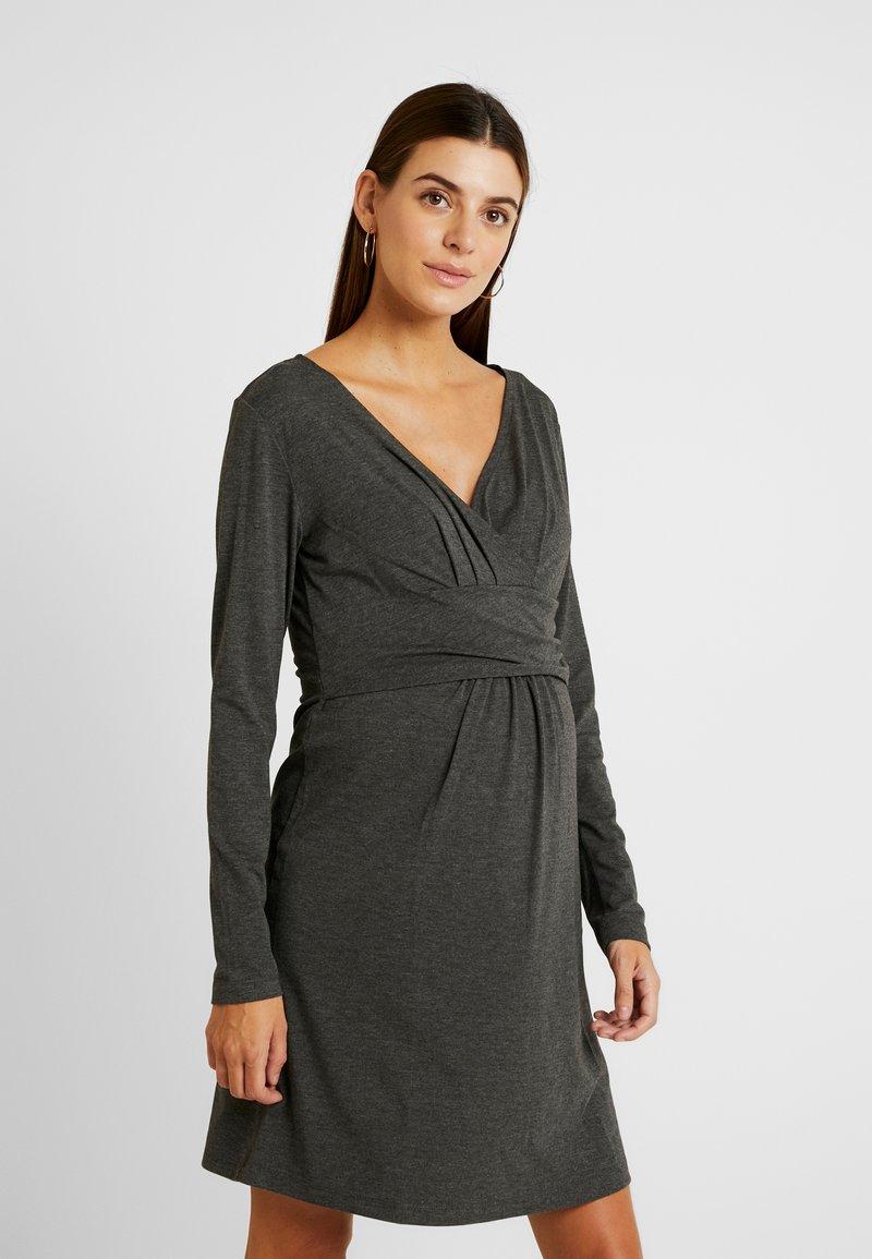 Gebe - DRESS HANNA - Vestido ligero - grey melange