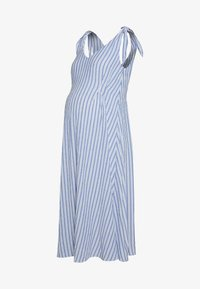 Gebe - DRESS AFRICA - Sukienka letnia - blue/off white - 0