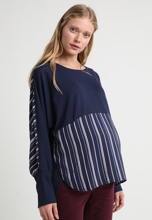 CLEMENTE - Long sleeved top - navy