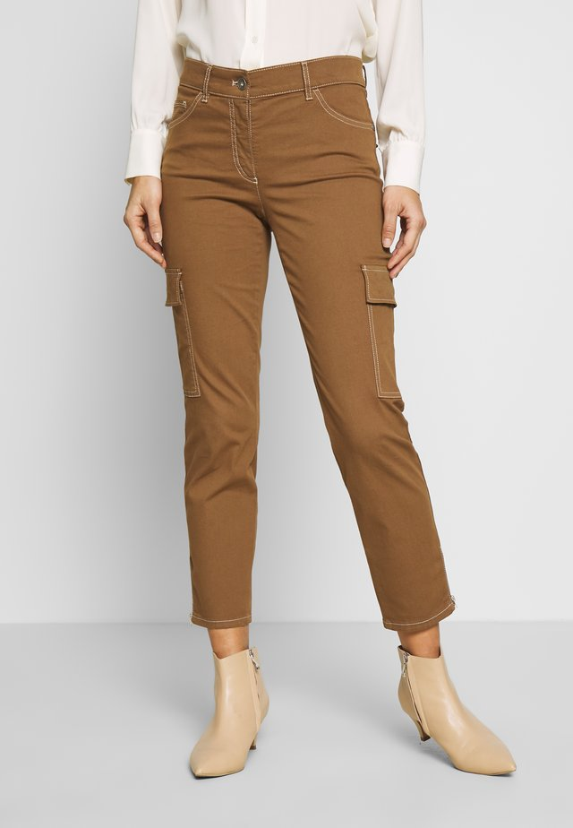 Trousers - tabak