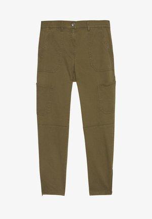 FREIZEIT - Spodnie materiałowe - olive branch