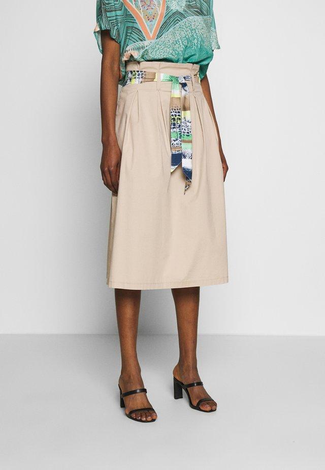 A-line skirt - desert