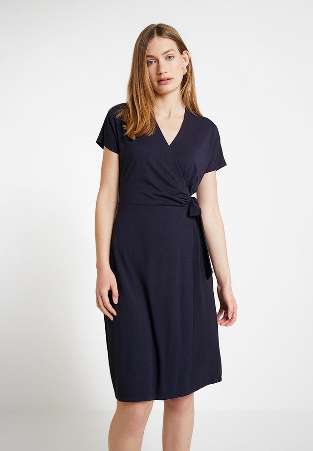Pouzdrové šaty - navy blue