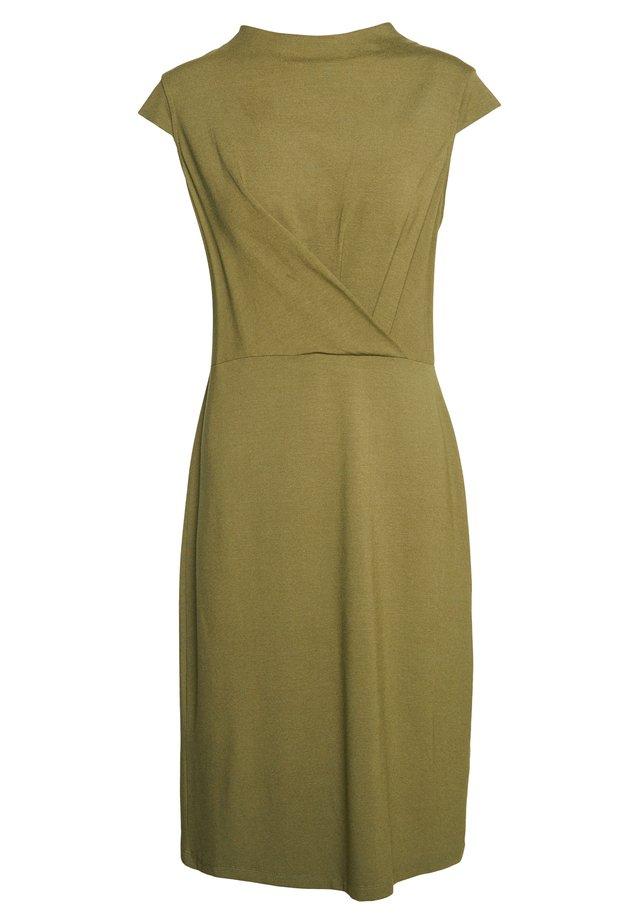 Žerzejové šaty - olive branch