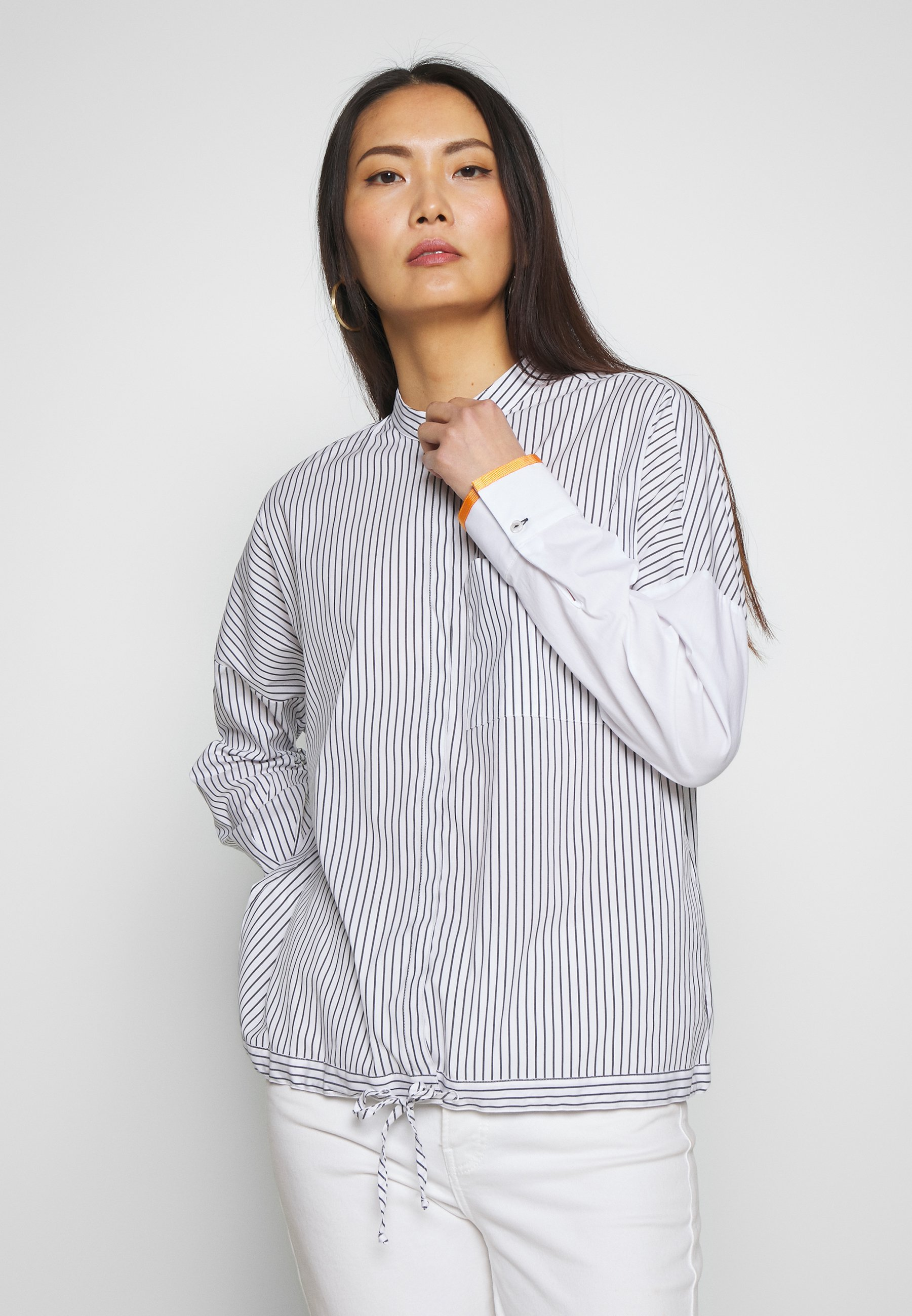 Gerry Weber Casual Bluser - white/navy