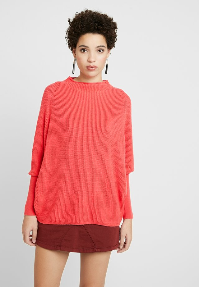 PULLOVER ARM - Stickad tröja - rouge red