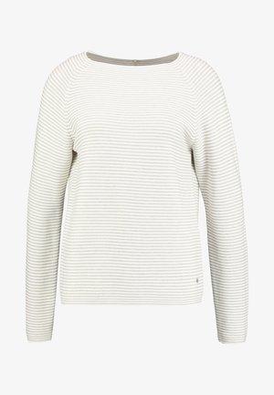 Pullover - ecru/weiss