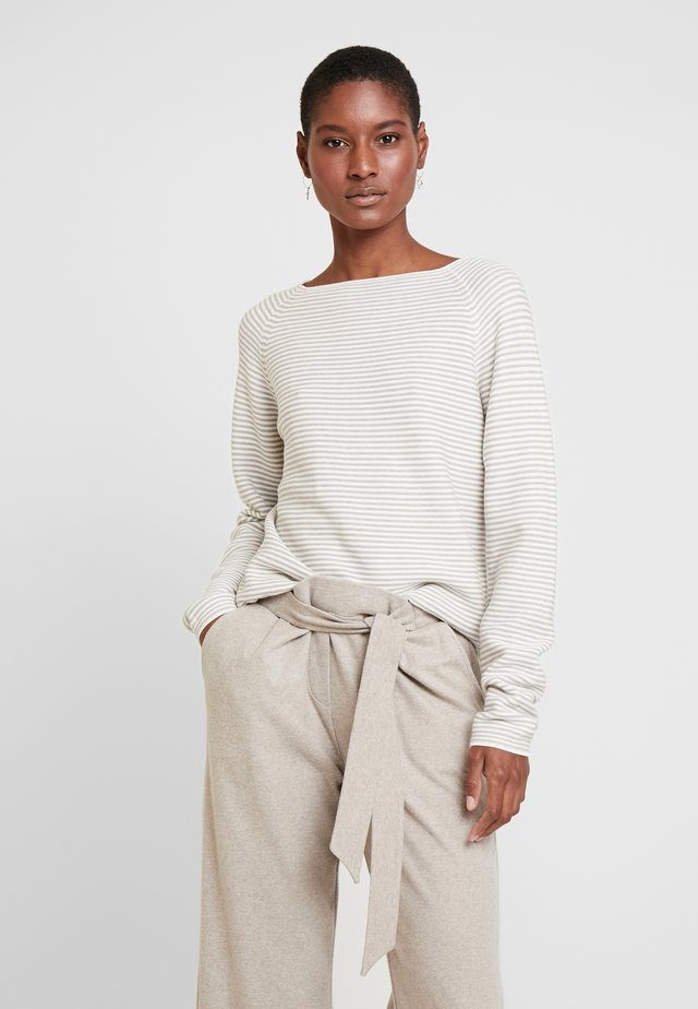 Jersey de punto - ecru/weiss